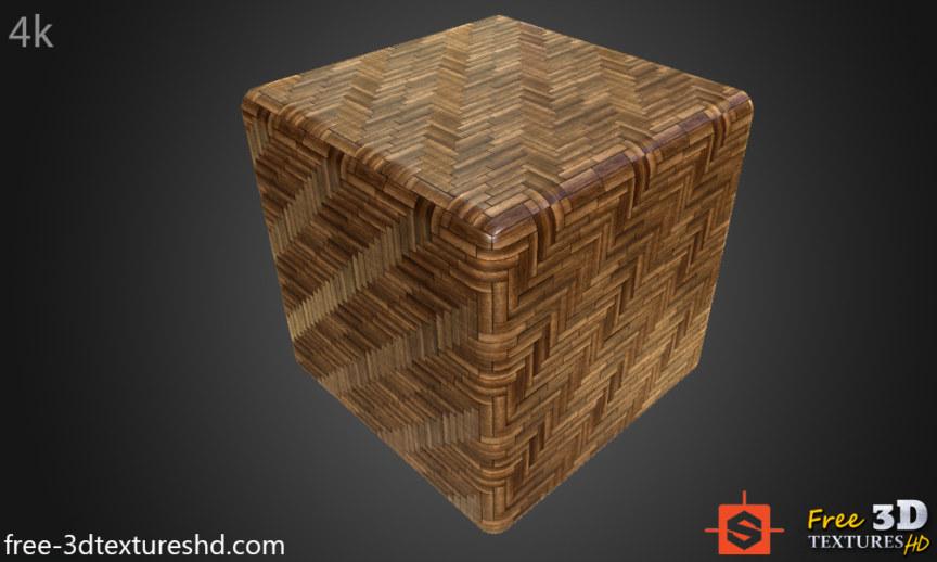 WOOD FLOORS- Parquet dark-Textures – ARCHITECTURE -Dark parquet flooring texture seamless -BPR material -High Resolution-Free Download-4k-preview cube
