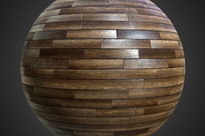 WOOD FLOORS- Parquet dark-Textures - ARCHITECTURE -Dark parquet flooring texture seamless pattern -BPR material -High Resolution-Free Download-4k
