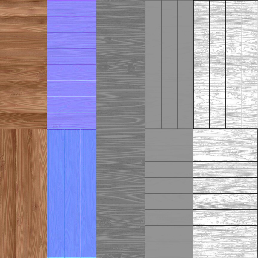 WOOD FLOORS- Parquet -Textures - ARCHITECTURE -parquet flooring texture seamless -square-style-light-brown-BPR material -High Resolution-Free-Download-substances-preview-normals-4k