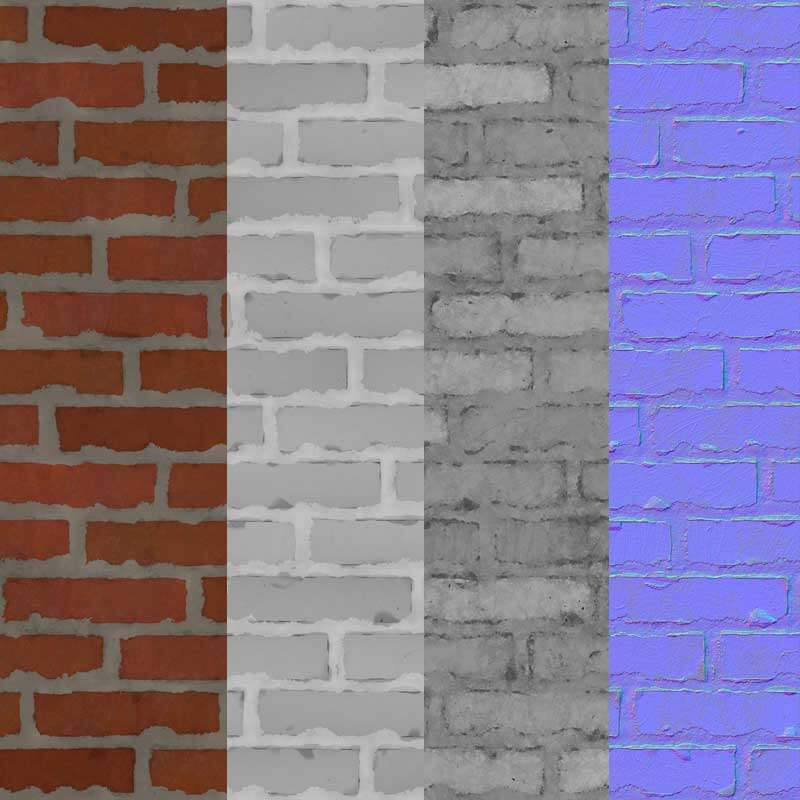Brick-Wall-with-Cement-Free-3d-Texture-PBR-Seamless-HD-4k-maps