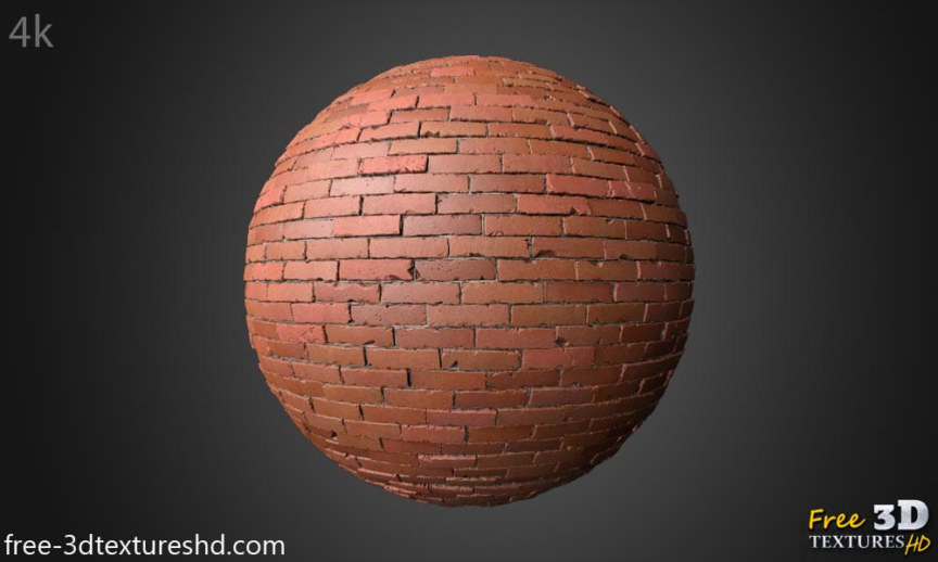 old brick wall 3d texture free download