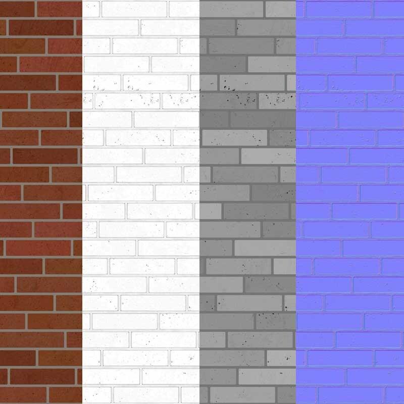 Free Download Classic Brick Wall 3d Texture seamless 4k HD