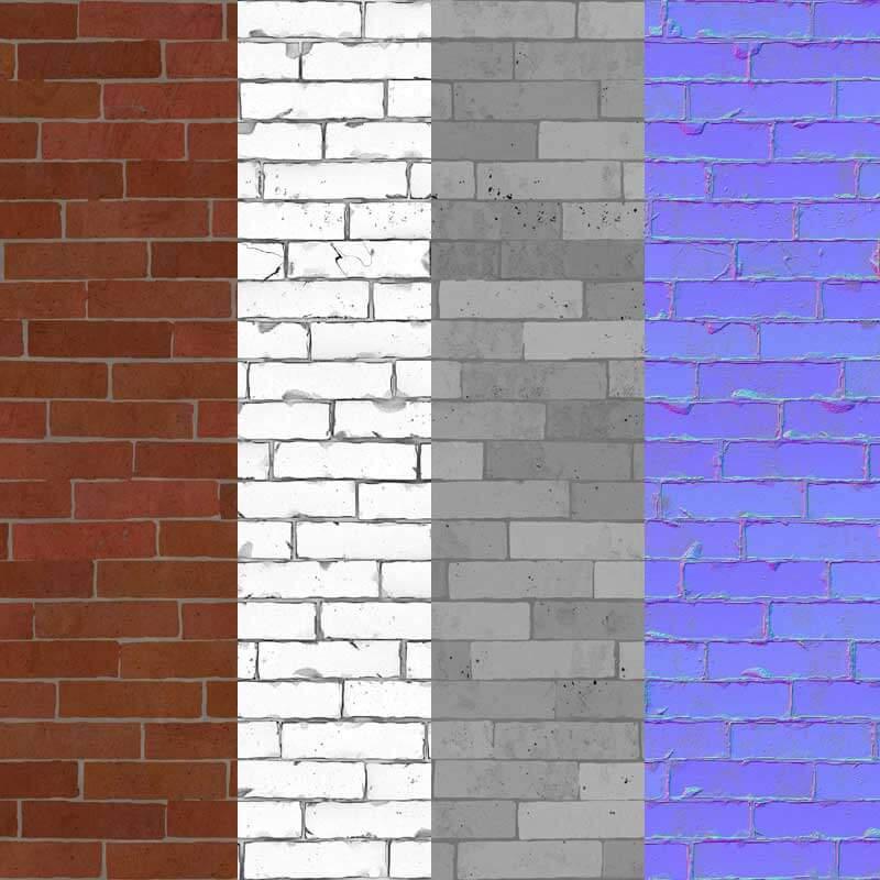 Free download Old Brick Wall 3d Texture seamless 4k HD