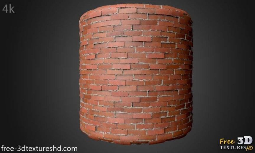 Old Brick Wall 3d Texture Free download seamless 4k HD