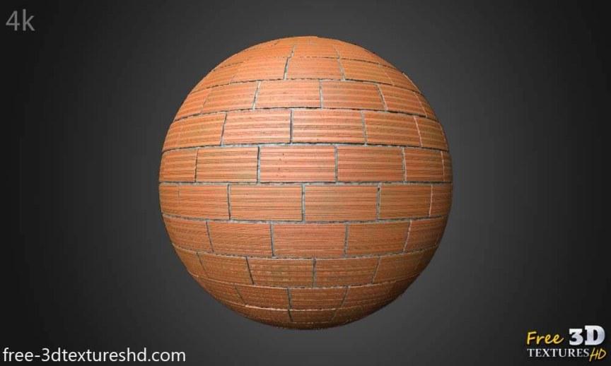 Normal Brick Wall Free 3d Texture PBR Seamless HD 4k