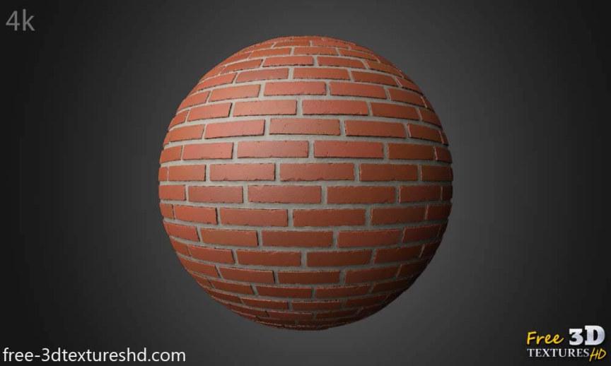 Brick Wall Free 3d Texture PBR Seamless HD 4k