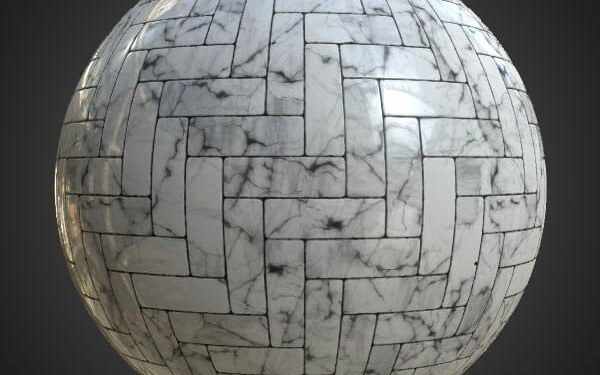 free-3d-texture-Floor-white-marble-tile-download
