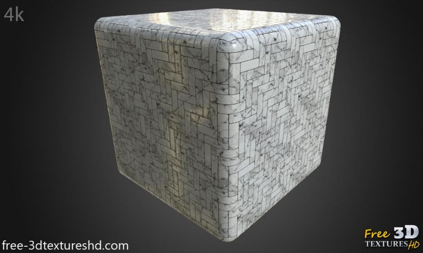 free-download-3d-texture-Floor-white-marble-tile-seamless