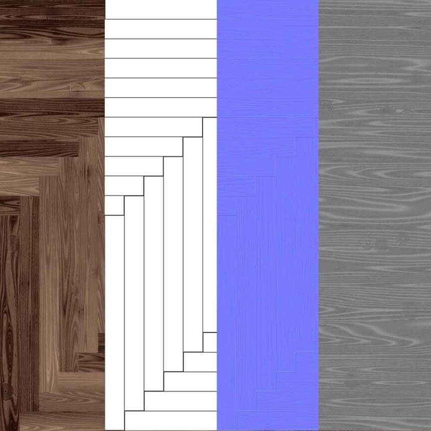 wood-floor-parquet-dark-brown-texture-3d-herringbone-style-free-download-maps-preview