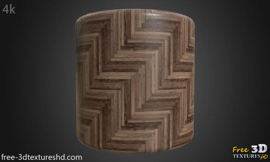 wood-floor-parquet-dark-brown-texture-3d-herringbone-style-free-download-render-cylindre-preview