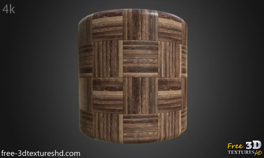 wood-floor-parquet-dark-brown-texture-3d-square-basket-style-free-download-render-cylindre-preview