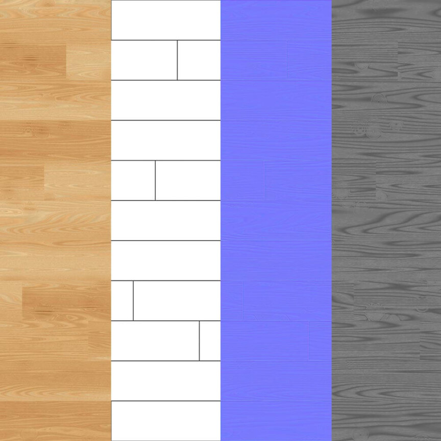 parquet-flooring-texture-seamless--BPR-material--High-Resolution-Free-Download-4k-map-preview