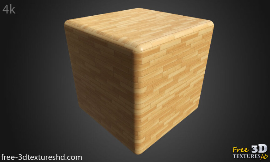 parquet-flooring-texture-seamless--BPR-material--High-Resolution-Free-Download-4k-render-cube-preview
