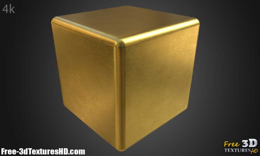 Gold-Textures-Seamless-brushed-BPR-material--High-Resolution--Free-Download-HD-4k-render-cube-preview