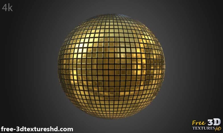Gold-Textures-Seamless-disco-ball-BPR-material-High-Resolution-Free-Download-HD-4k-preview