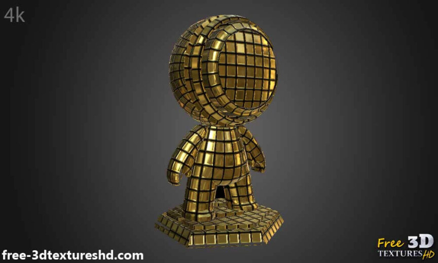 Gold-Textures-Seamless-disco-ball-BPR-material-High-Resolution-Free-Download-HD-4k-preview-object