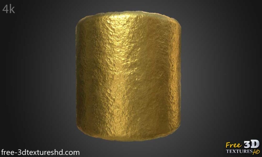 Gold-Textures-Seamless-raw-BPR-material--High-Resolution--Free-Download-HD-4k-preview-cylindre