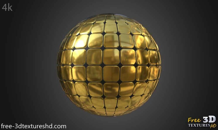 Gold-Textures-Seamless-square-wall-background-BPR-material--High-Resolution--Free-Download-HD-4k-preview