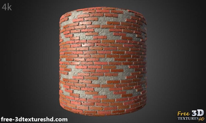 Old-Brick-wall-with-unstack-bricks-textures-free-download-background-BPR-material-high-resolution-HD-4k-preview-cylindre