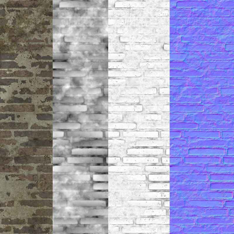 Old-Brick-wall-sloppy-bricks-textures-free-download-background-BPR-material-high-resolution-HD-4k-preview-maps