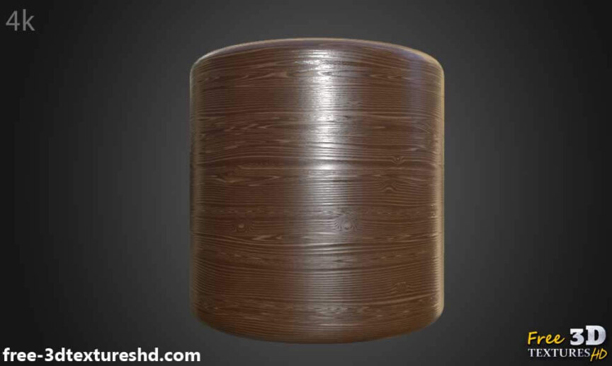Natural-brown-wood-texture-BPR-material-background-3d-free-download-HD-4K-preview-render-cylindre
