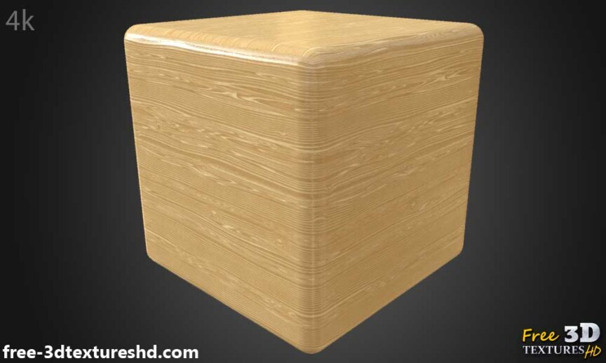 Natural-wood-texture-BPR-material-background-3d-free-download-HD-4K-render-preview-cube