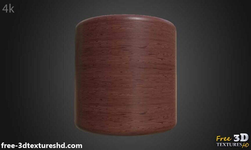 Red-simple-wood-texture-background-3d-BPR-material-free-download-HD-4K-render-preview-cylindre