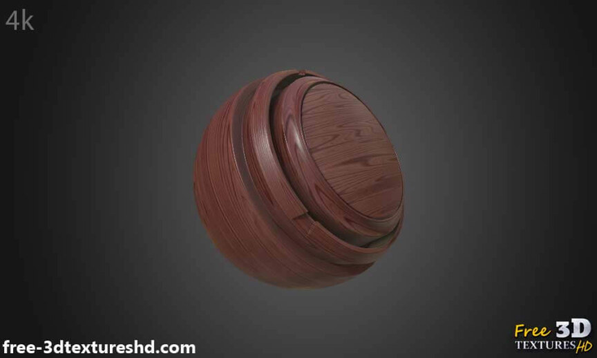 Red-simple-wood-texture-background-3d-BPR-material-free-download-HD-4K-render-preview-material