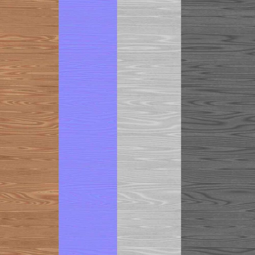 simple-brown-wood-texture-BPR-material-background-3d-free-download-HD-4K-preview-maps