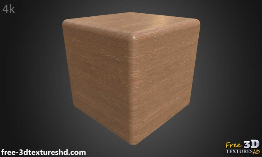 simple-brown-wood-texture-BPR-material-background-3d-free-download-HD-4K-preview-render-cube
