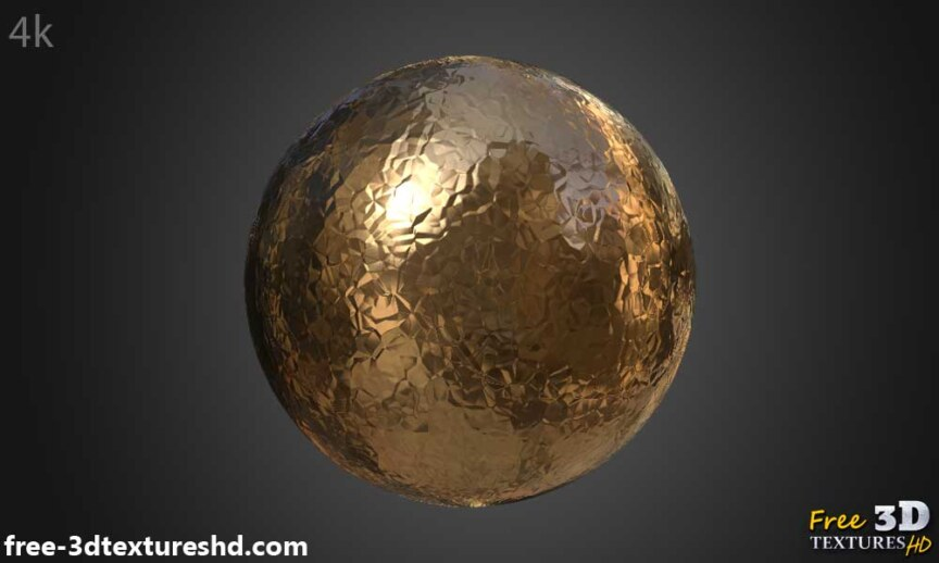 metallic Paper-copper-textures-BPR-material-Seamless-High-Resolution-Free-Download-HD-4k-render