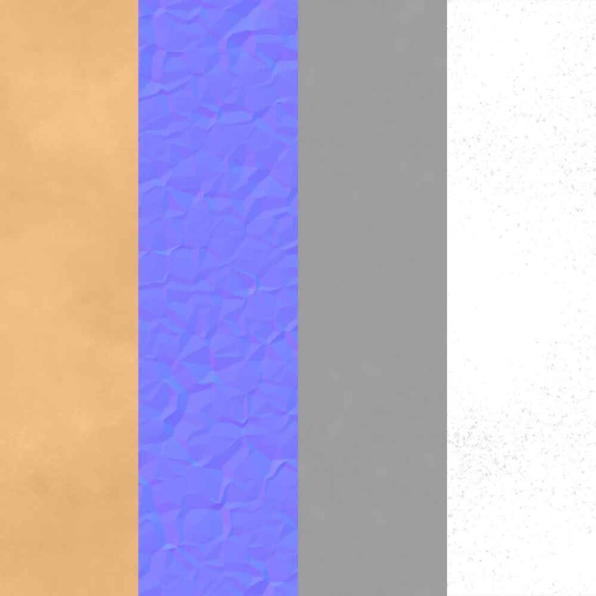 metallic Paper-copper-textures-BPR-material-Seamless-High-Resolution-Free-Download-HD-4k-render-preview-mapsl