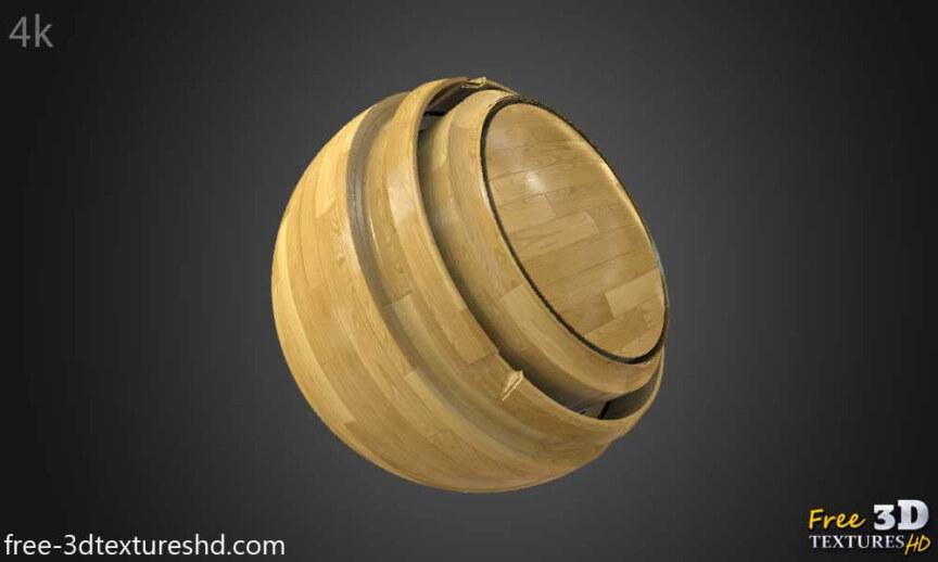 Wood-floor-parquet-bright-texture-3d-BPR-free-download-seamless-HD-4K-render-material