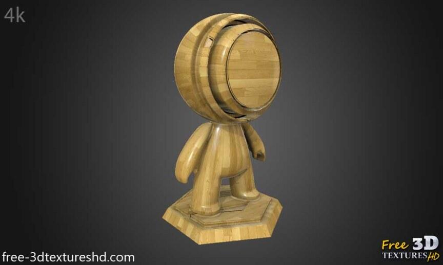 Wood-floor-parquet-bright-texture-3d-BPR-free-download-seamless-HD-4K-render-object