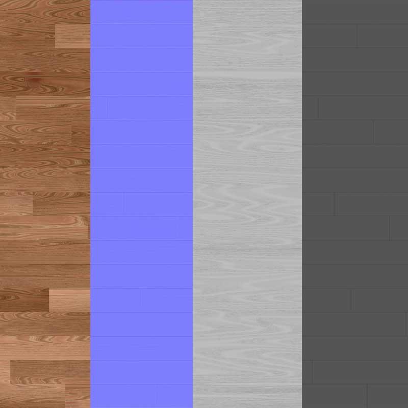 Wood-floor-parquet-brown-texture-3d-BPR-free-download-seamless-HD-4K-render-maps