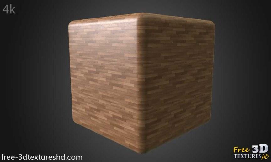 Wood-floor-parquet-texture-3d-BPR-free-download-seamless-HD-4K-render-cube