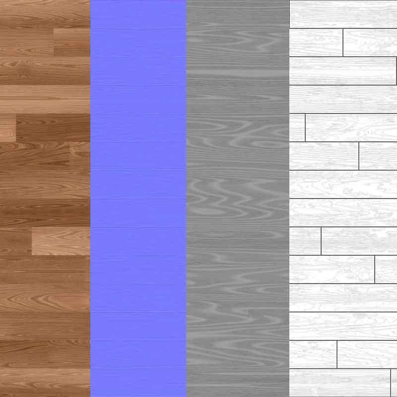 Wood-floor-parquet-texture-3d-BPR-free-download-seamless-HD-4K-render-maps